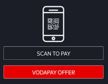 VodaPayアプリの使用方法