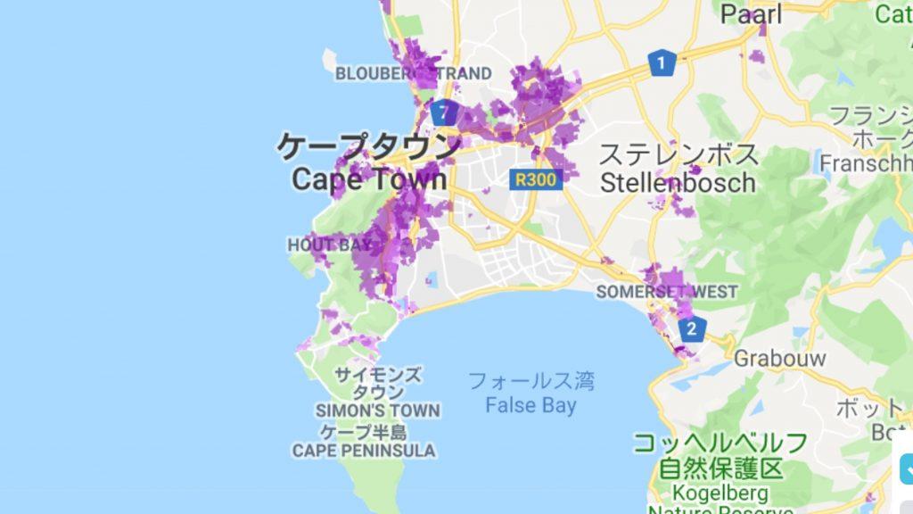都市部はカバーされているが、地方部は現在進行形で拡大中