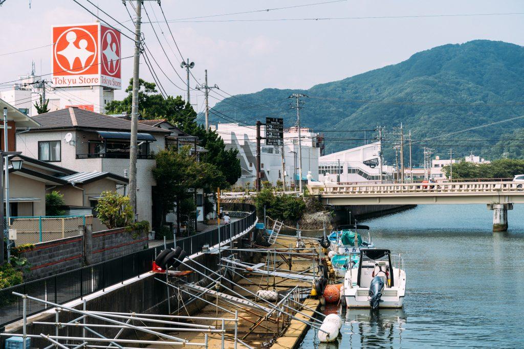 江戸に向かう船舶の寄港地として繁栄した「下田港」