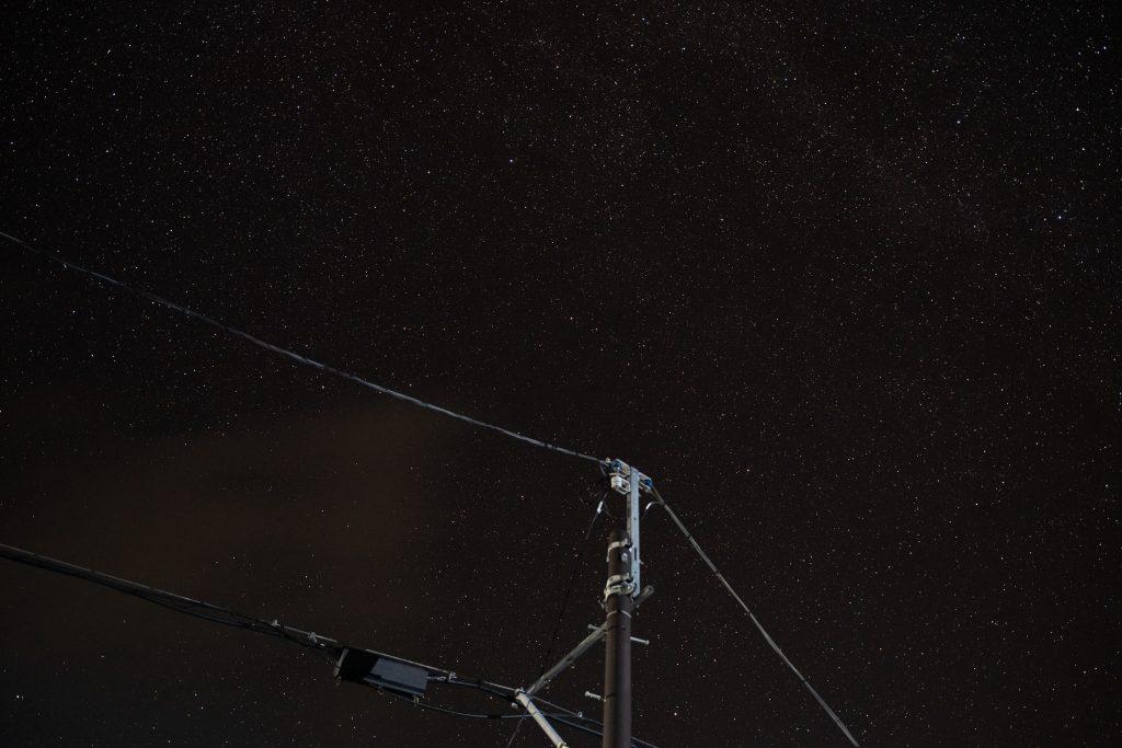 星空写真:レタッチ前