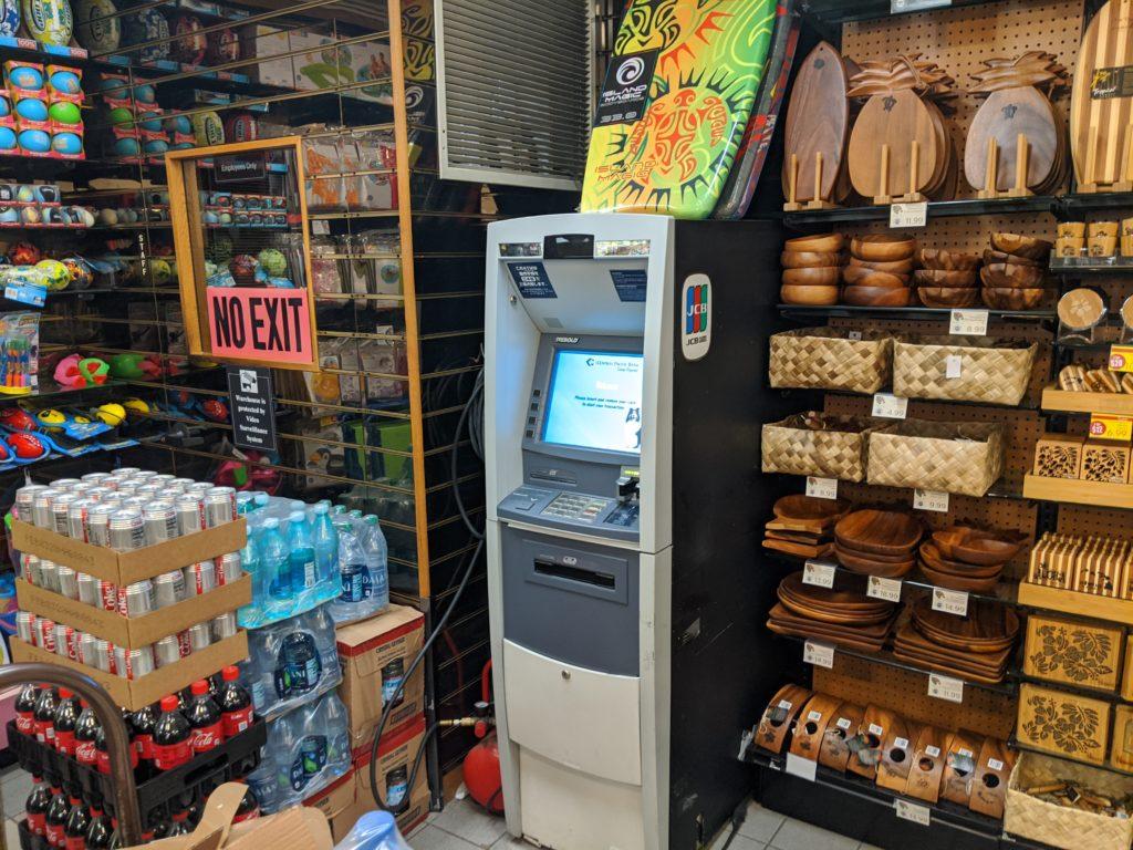 【ハワイ】旅行では現地ATMキャッシングがベター